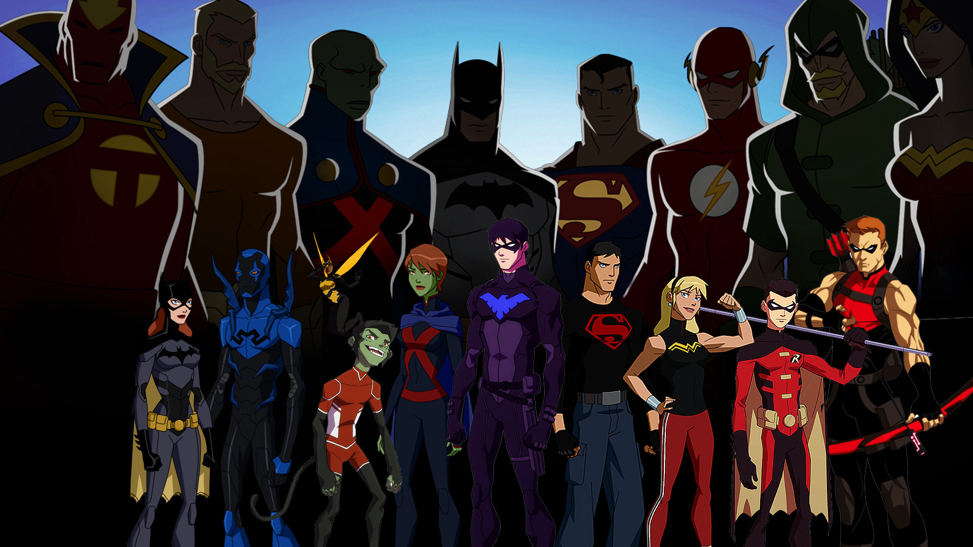 29 Young Justice HD Wallpapers   Backgrounds - Wallpaper Abyss