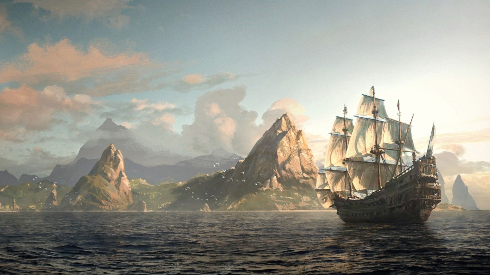 ... Assassin's Creed Black Flag Wallpaper Full HD. Assassin's Creed
