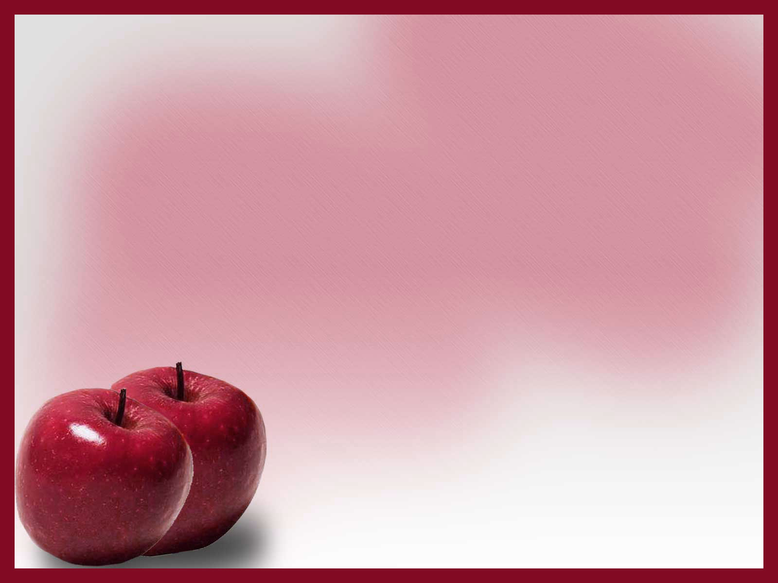 Free-Food-Backgrounds Red Apple Background Wallpaper for PowerPoint ...