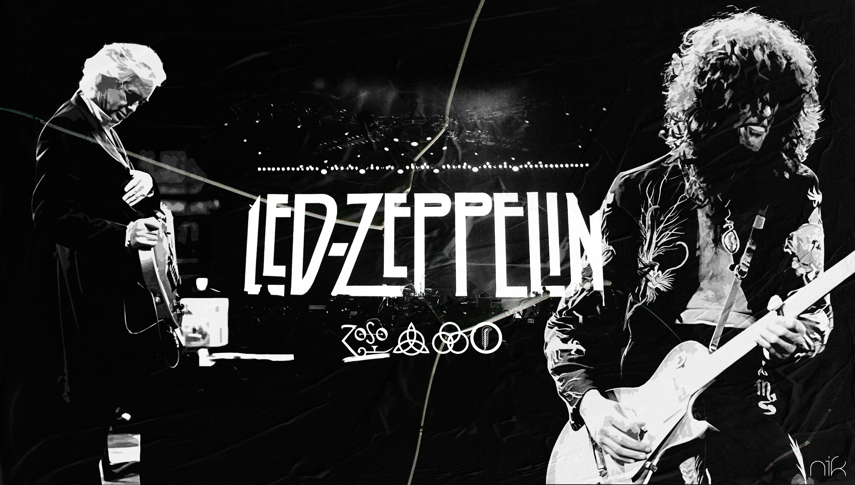 Led Zeppelin Wallpapers High Quality | Download Free