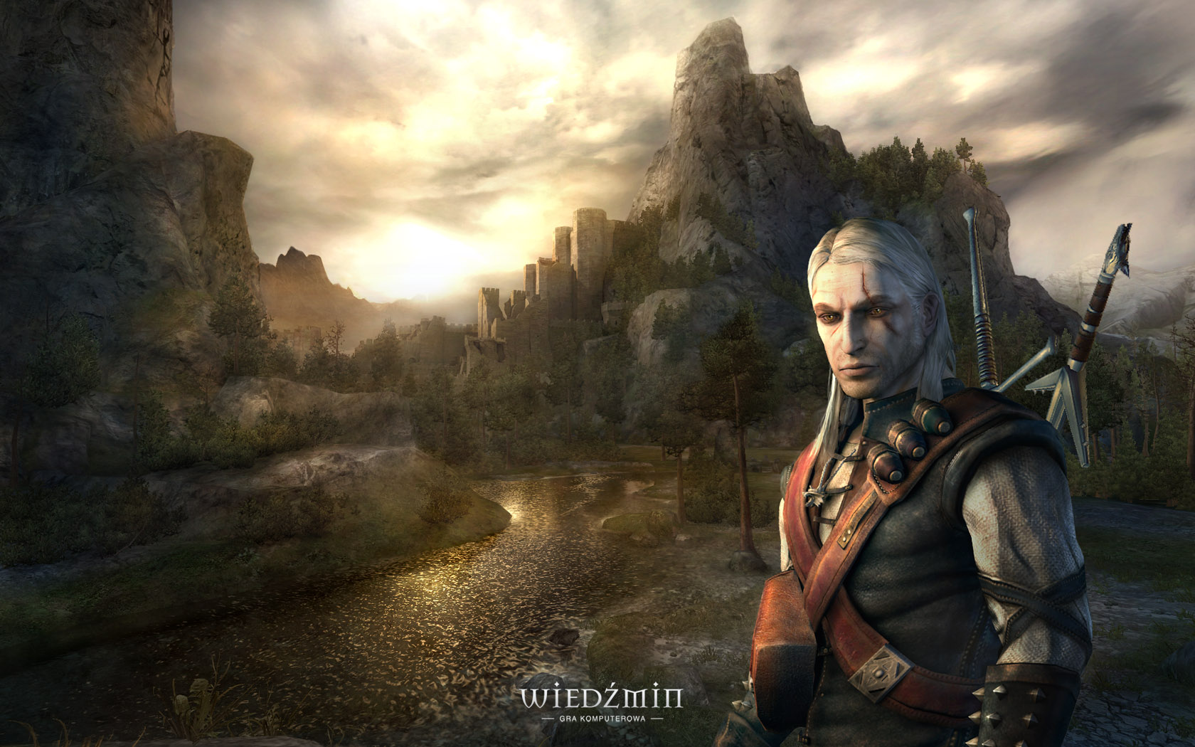 Download High quality The Witcher The Witcher wallpaper / 1680x1050