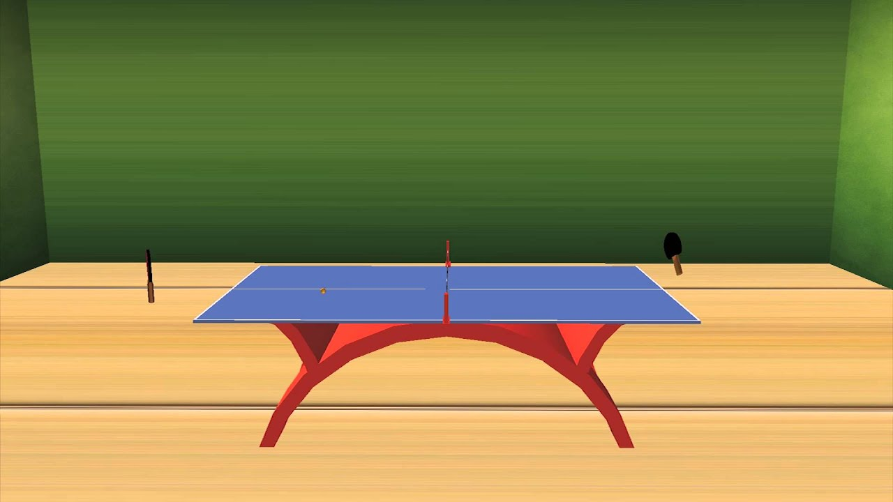 3D Ping-Pong Animation - YouTube