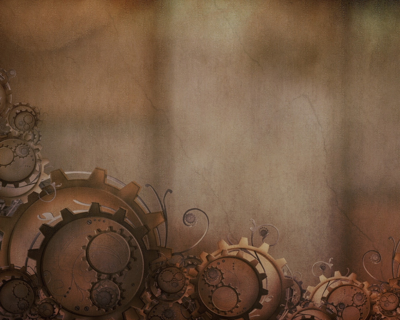 Old Machine Gears Power Point Backgrounds, Old Machine Gears Download ...