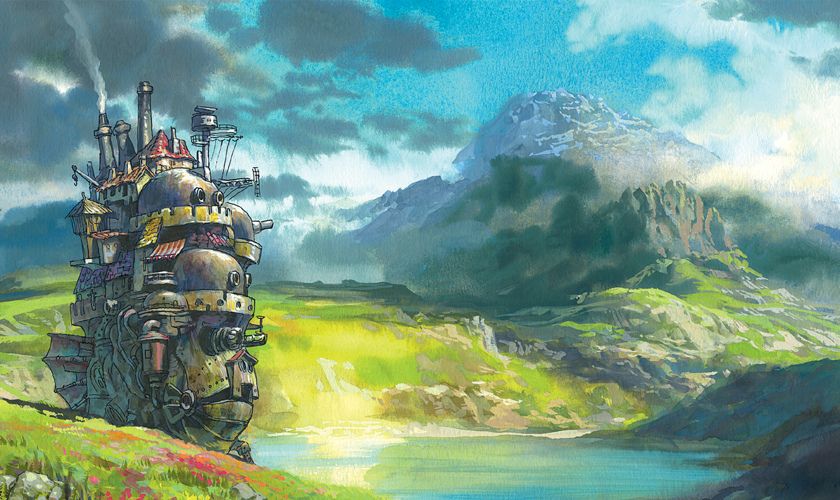 Beautiful Howl's Moving Castle Art - Evan's Blog
