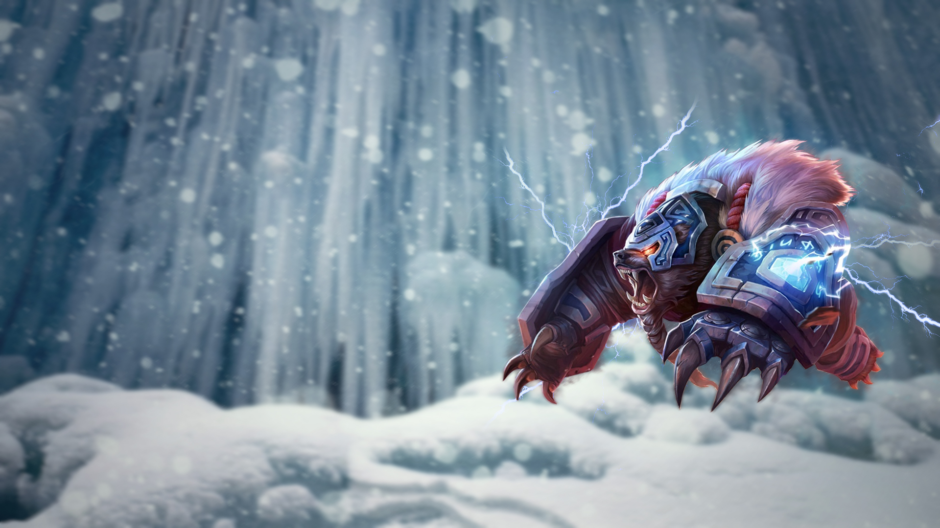 league of legends volibear wallpaper 1080p by selack fan art wallpaper ...