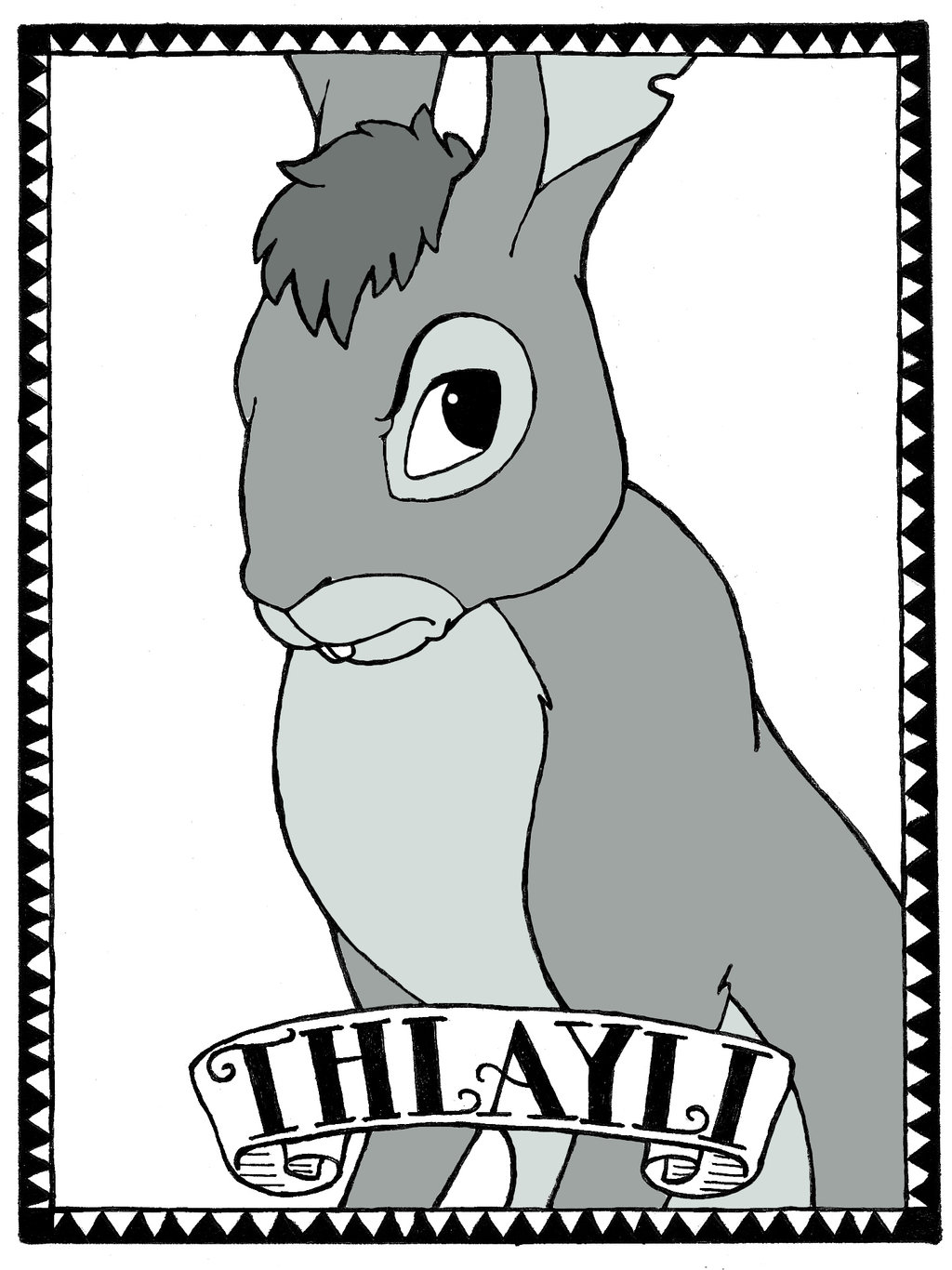 Watership Down Wallpaper: Thlayli by LostInTheTrees on DeviantArt