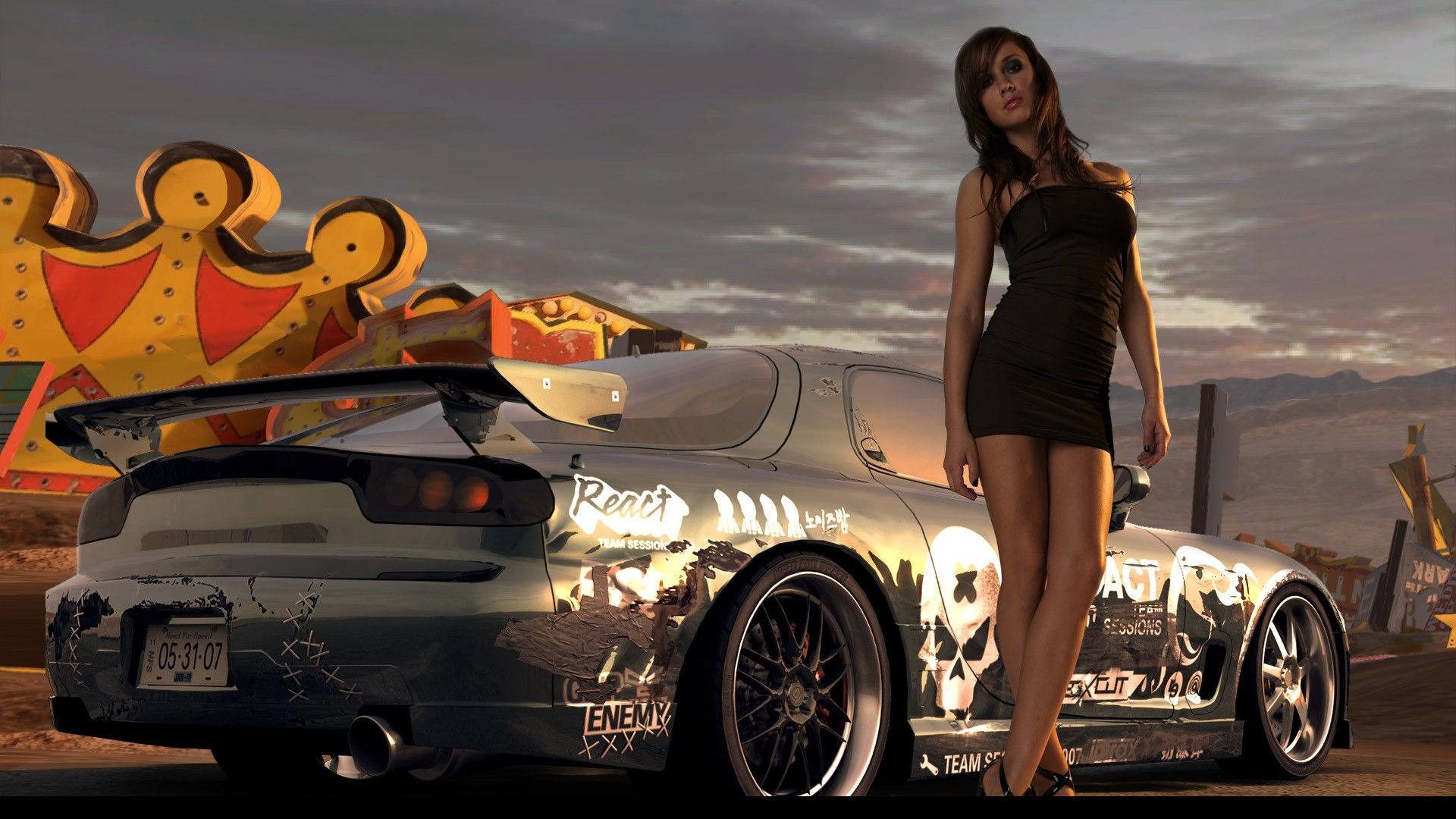 ... For Speed: ProStreet HD Wallpapers | Backgrounds - Wallpaper Abyss