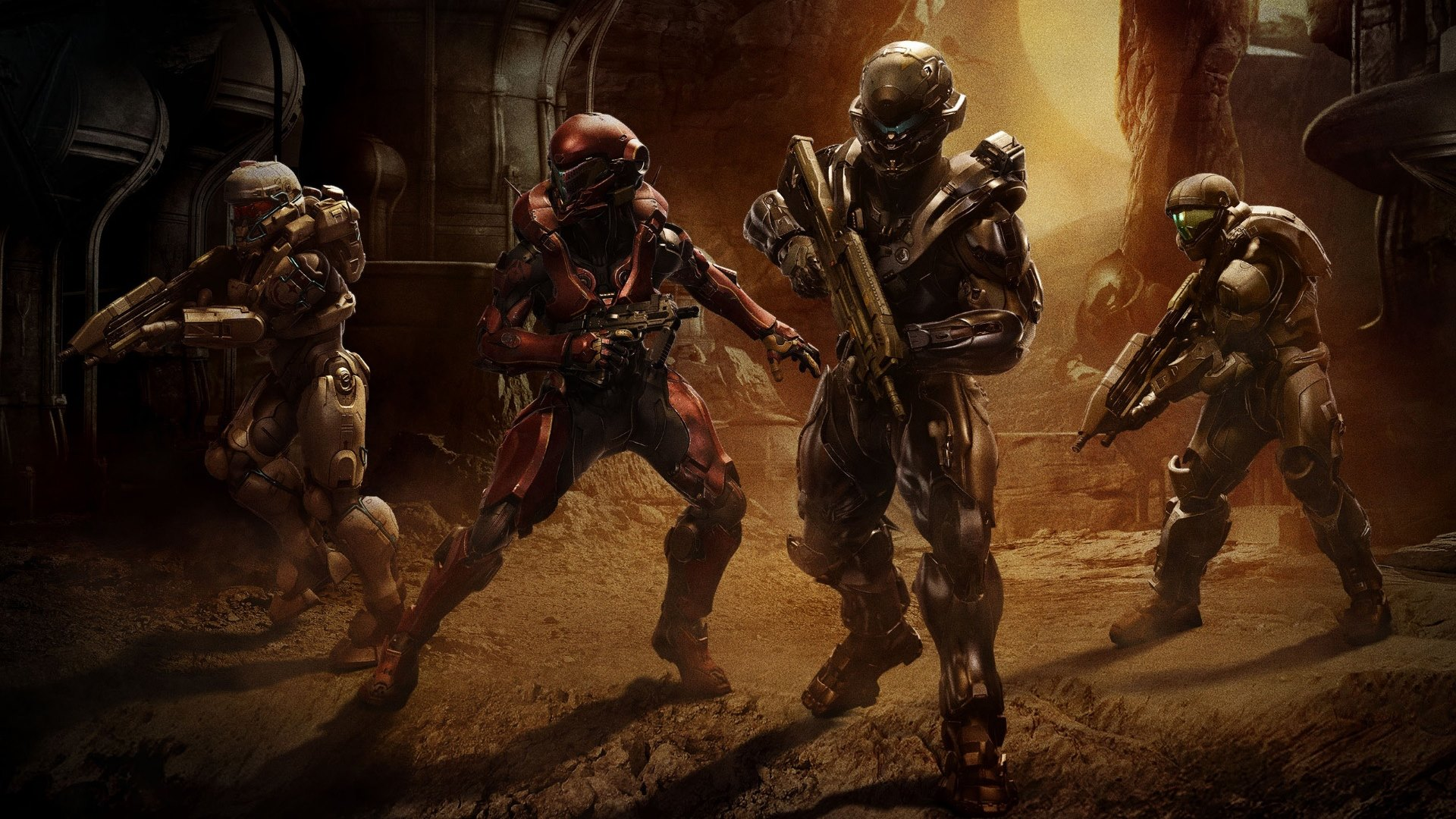 Halo 5: Guardians Game Wallpaper · HD Wallpapers