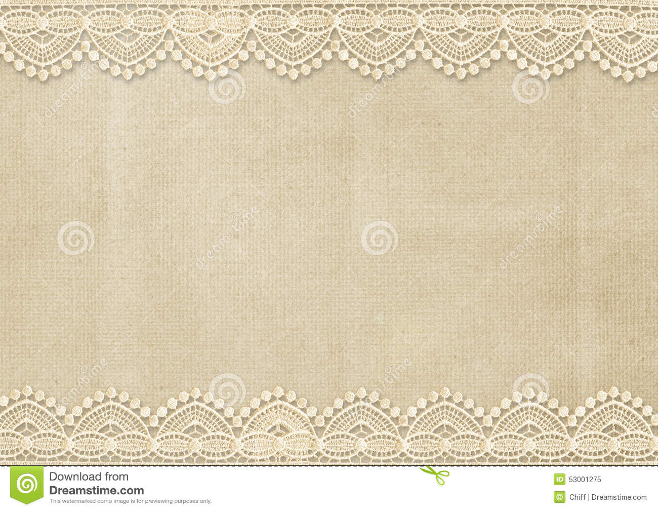 Vintage background with lace, with place for photos or notes. page ...