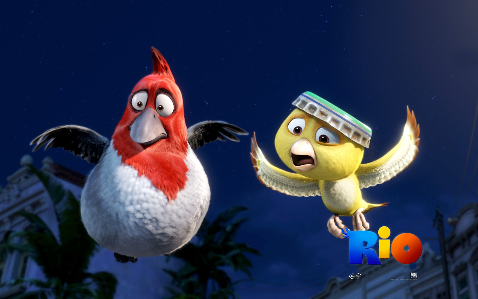 Central Wallpaper: Angry Birds Rio Movie HD Wallpapers & All ...