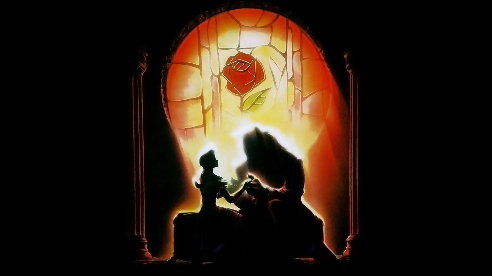 ... - Beauty And The Beast Background Beauty And The Beast Wallpaper For