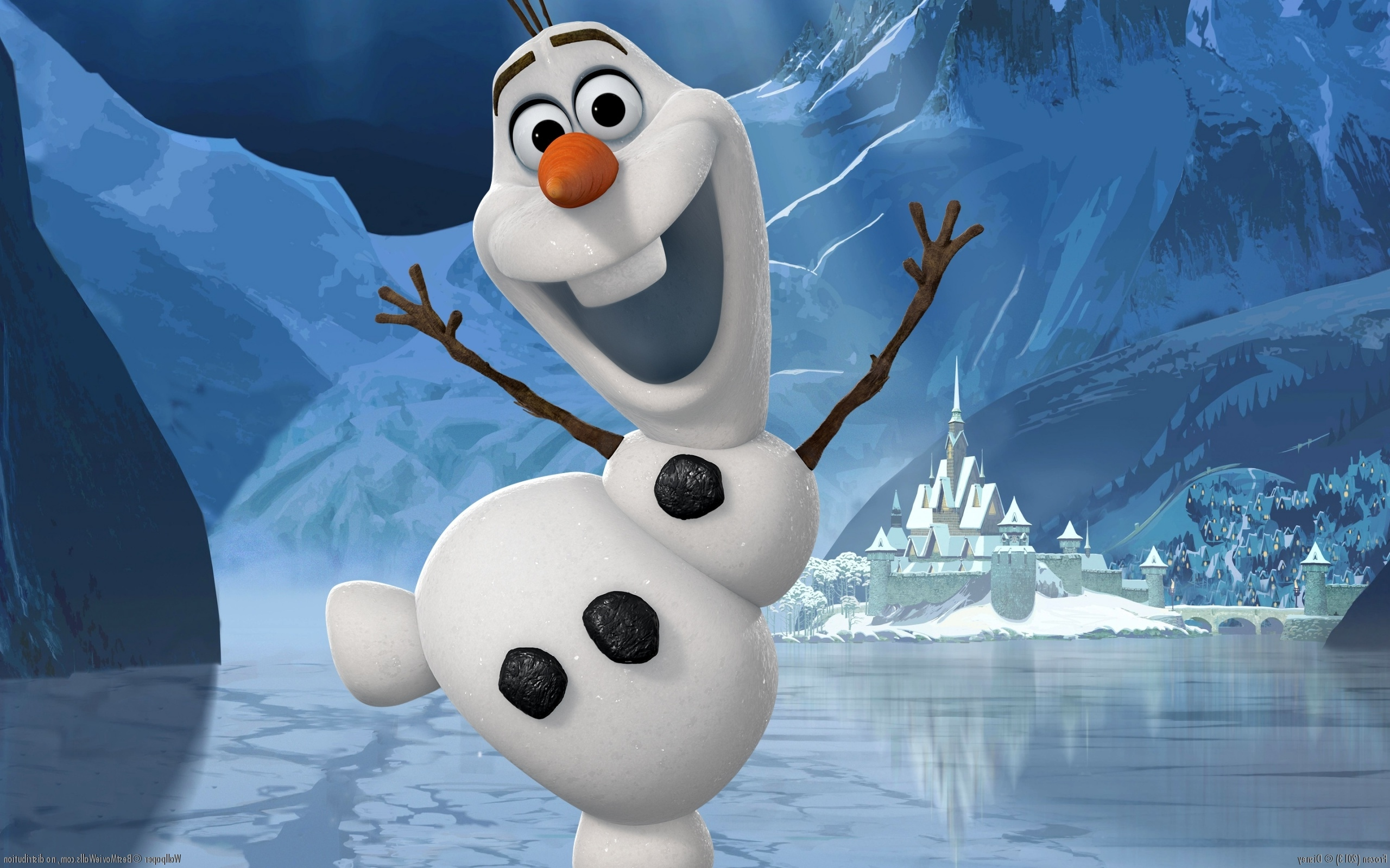 Olaf and Sven images Olaf Wallpaper HD wallpaper and background photos ...