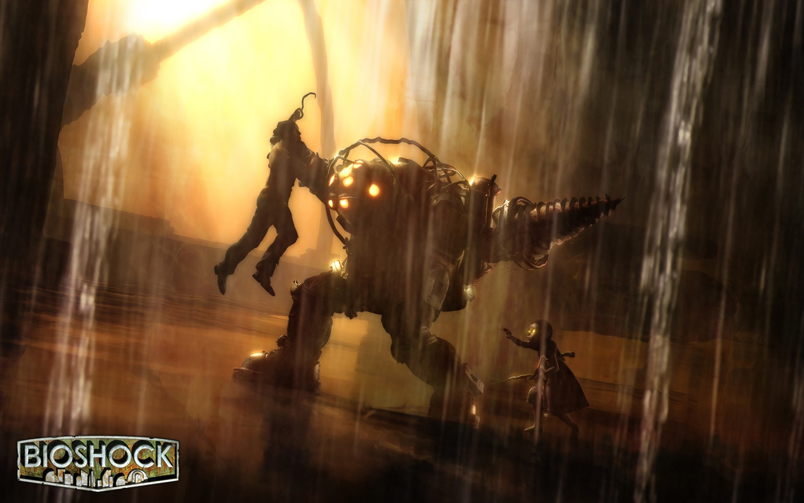 Category : Game Wallpapers » BioShock, Video Games, Mech, Big Daddy ...
