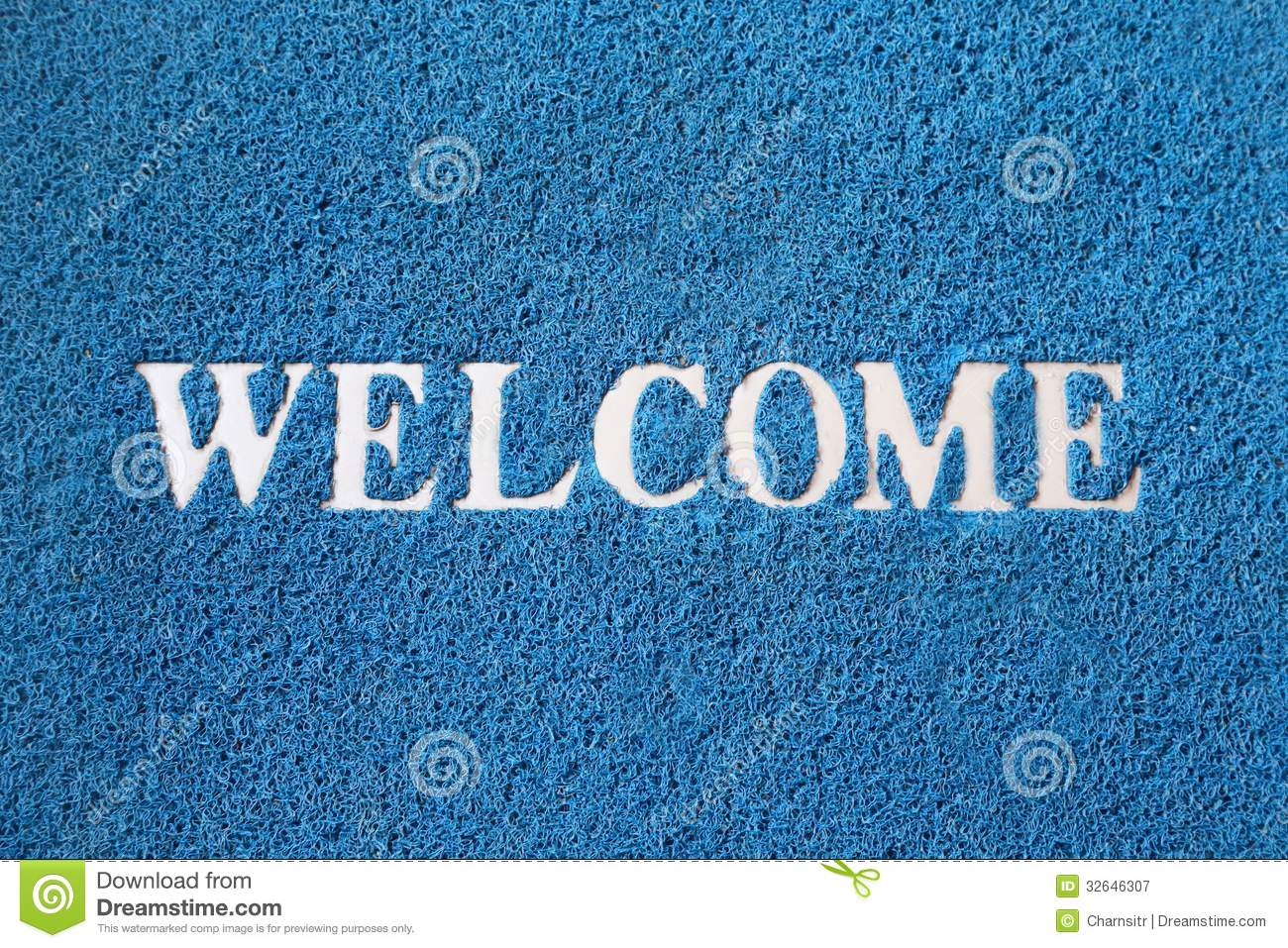 Welcome Carpet Royalty Free Stock Photography - Image: 32646307