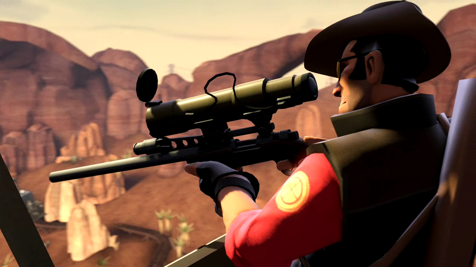 15 Best Sniper Wallpapers from Video Games:wallpapers screensavers