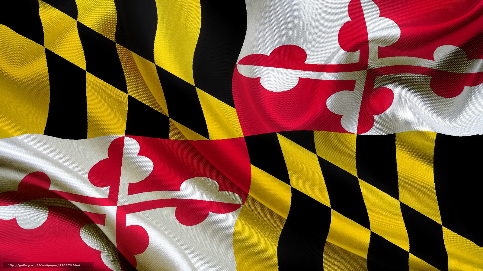 Download wallpaper flag, State, Maryland free desktop wallpaper in the ...