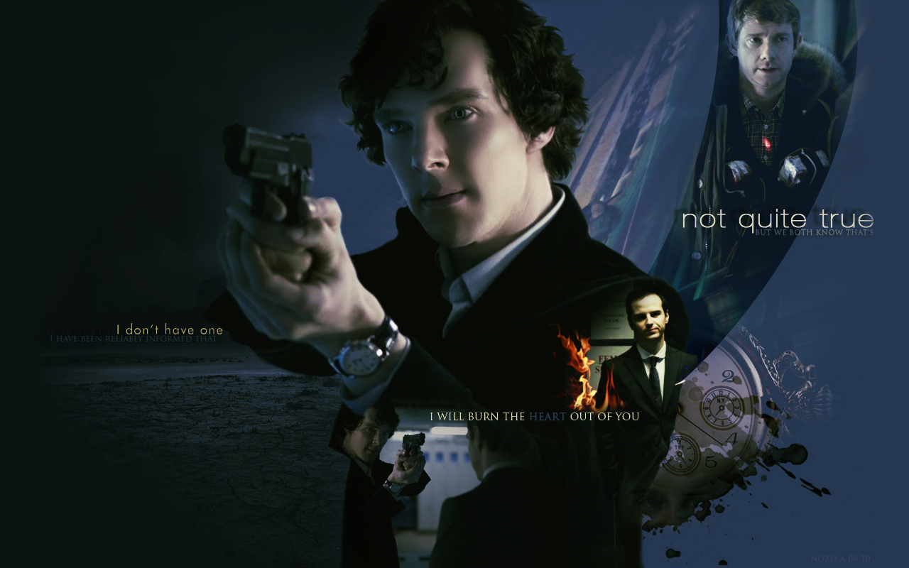 Sherlock The Great Game - Sherlock on BBC One Wallpaper (14666032 ...