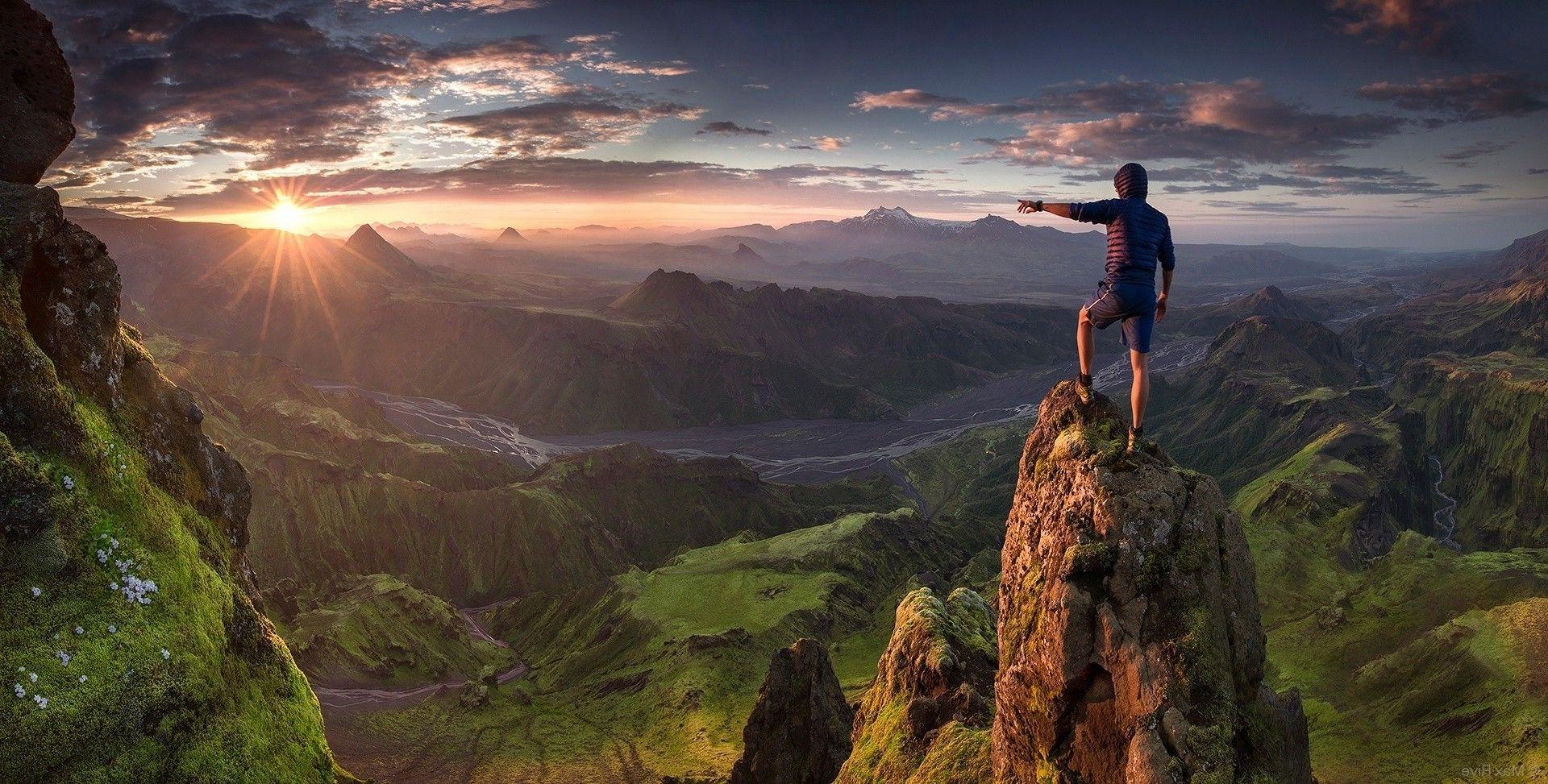 For Your Desktop: Hiking Wallpapers, 31 Top Quality Hiking ...