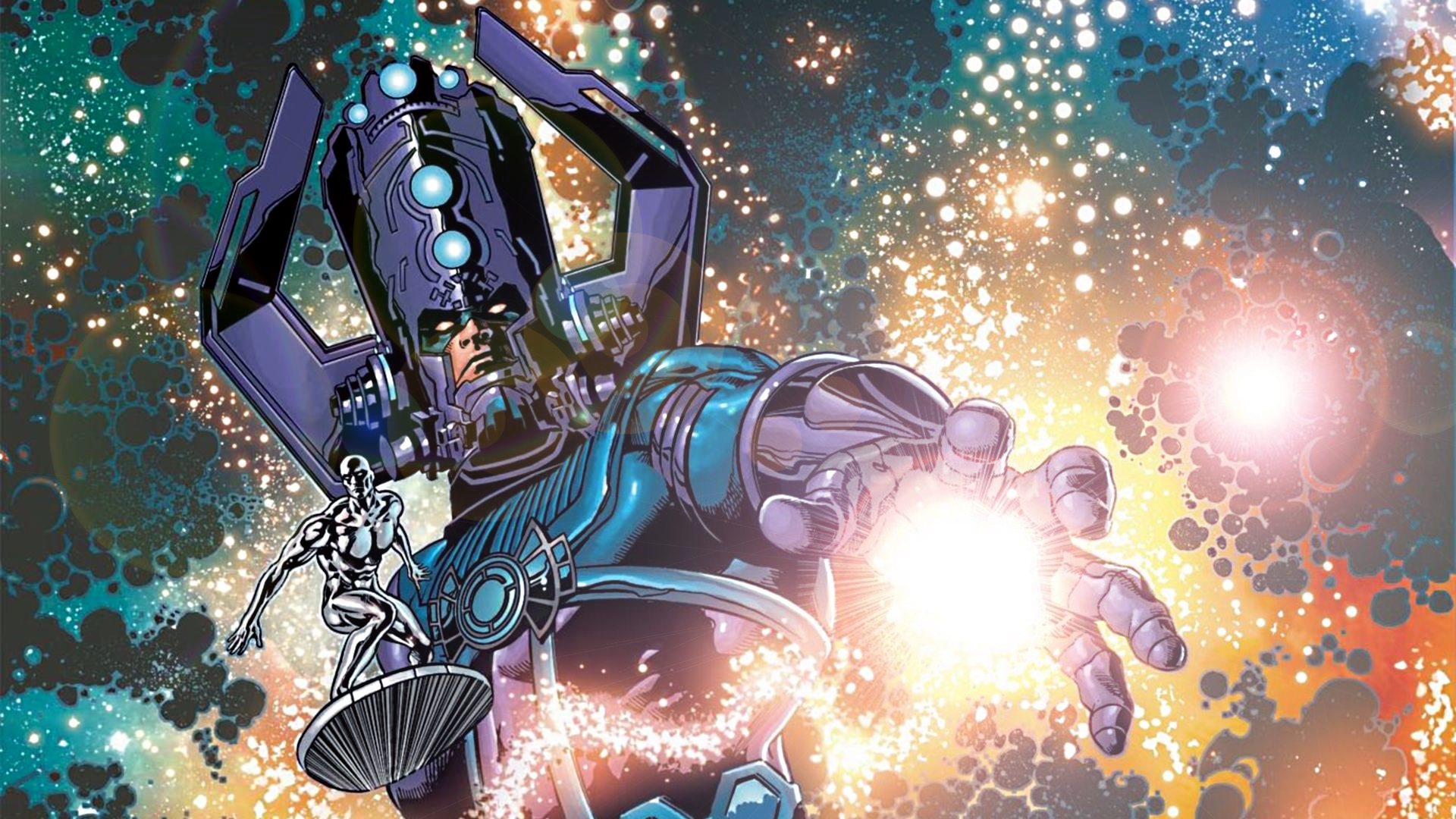 Silver Surfer Galactus Wallpaper Galactus and the silver