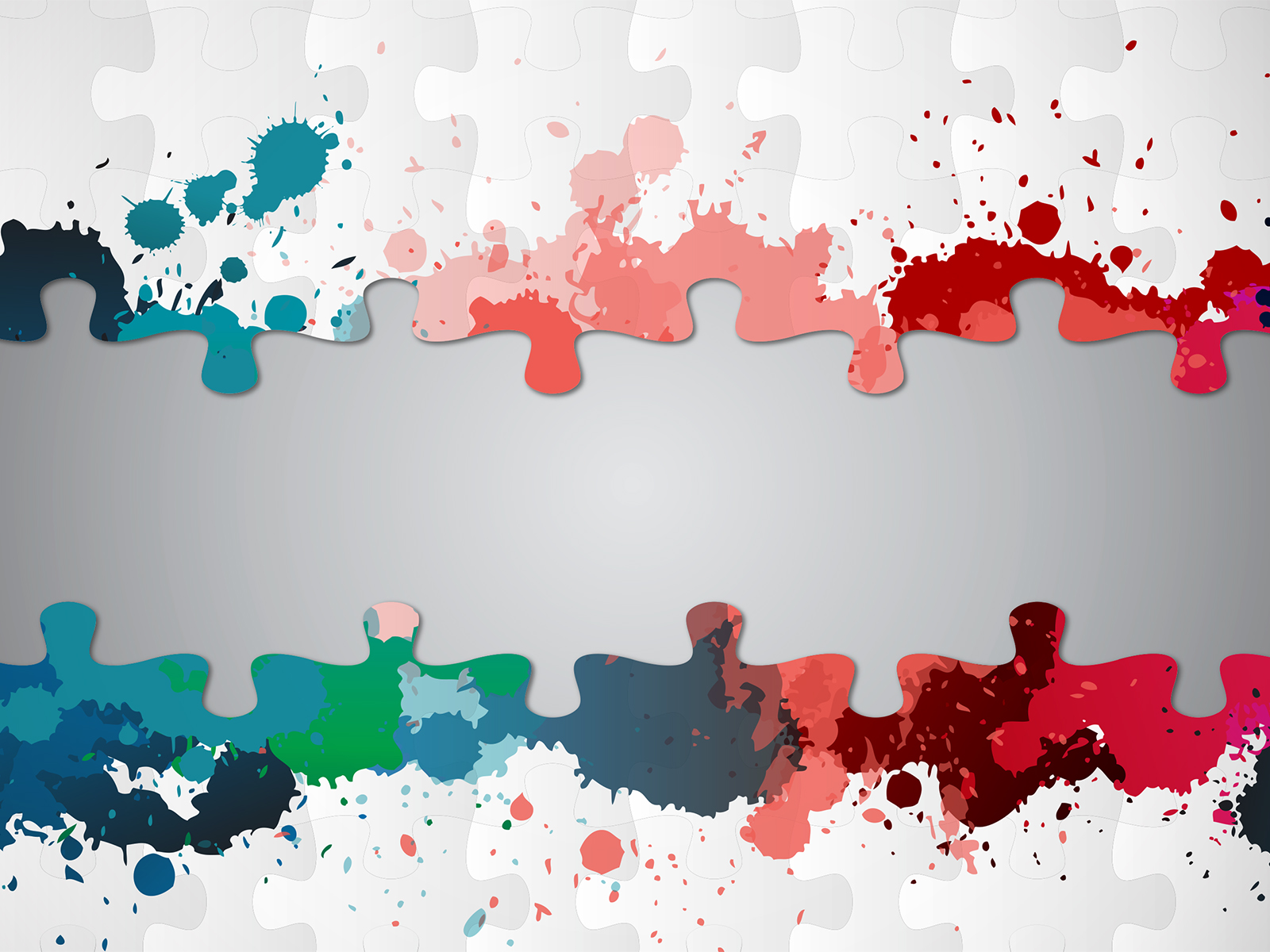 Paint Splatter Puzzle Backgrounds - Abstract, Blue, Games, Green, Red ...