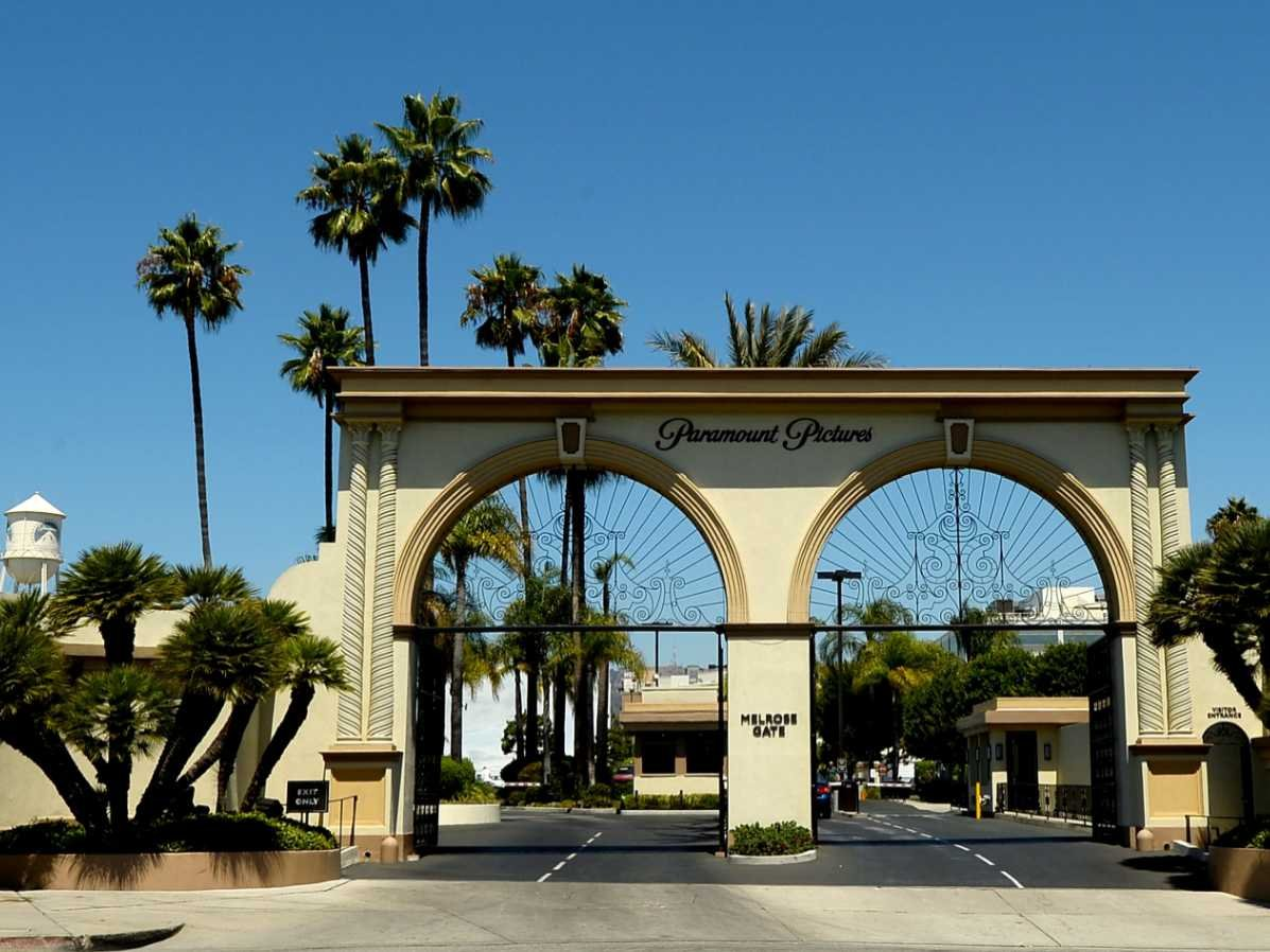 Paramount Studios Pictures to pin on Pinterest