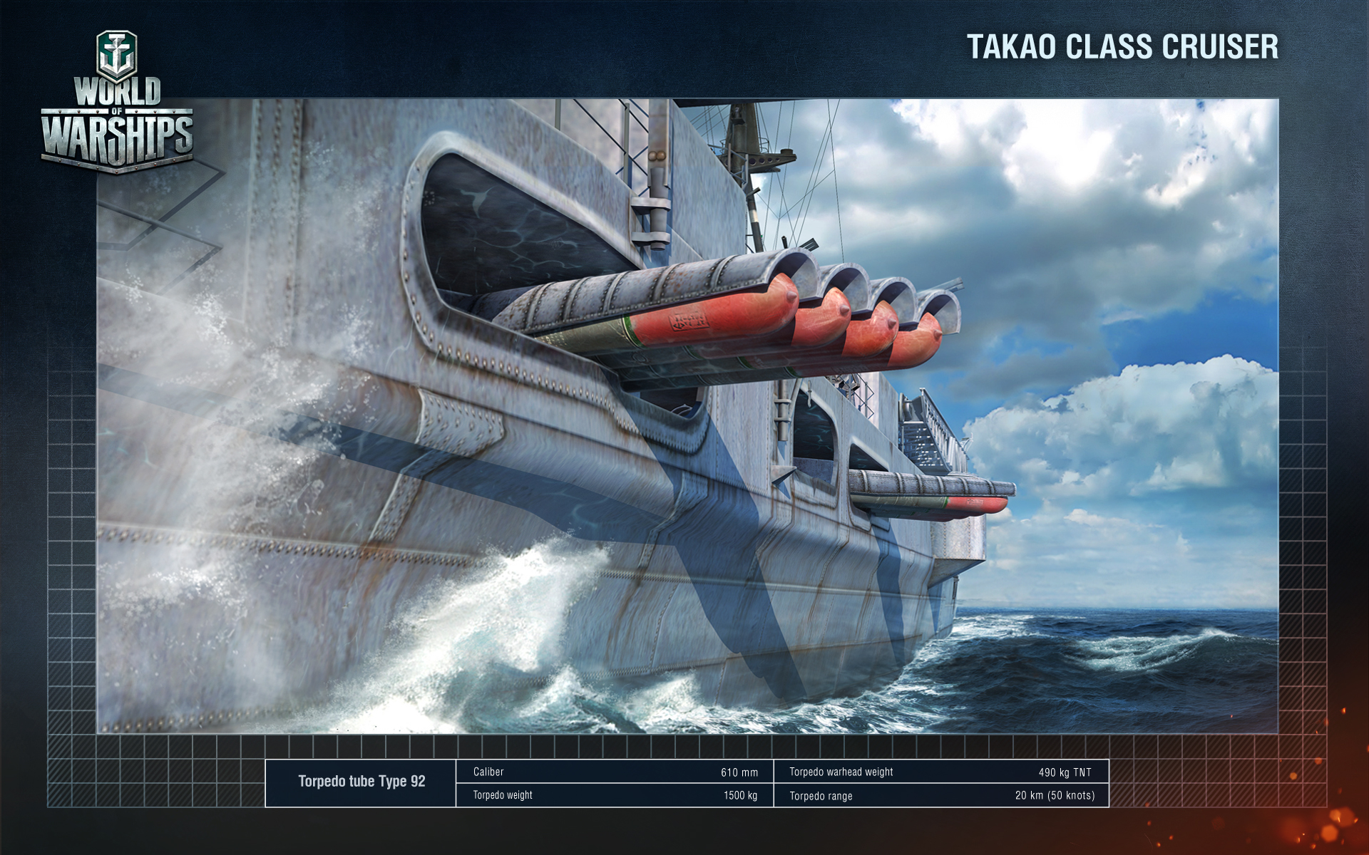 Japanese Cruiser Takao - renders - News and Announcements - World of ...