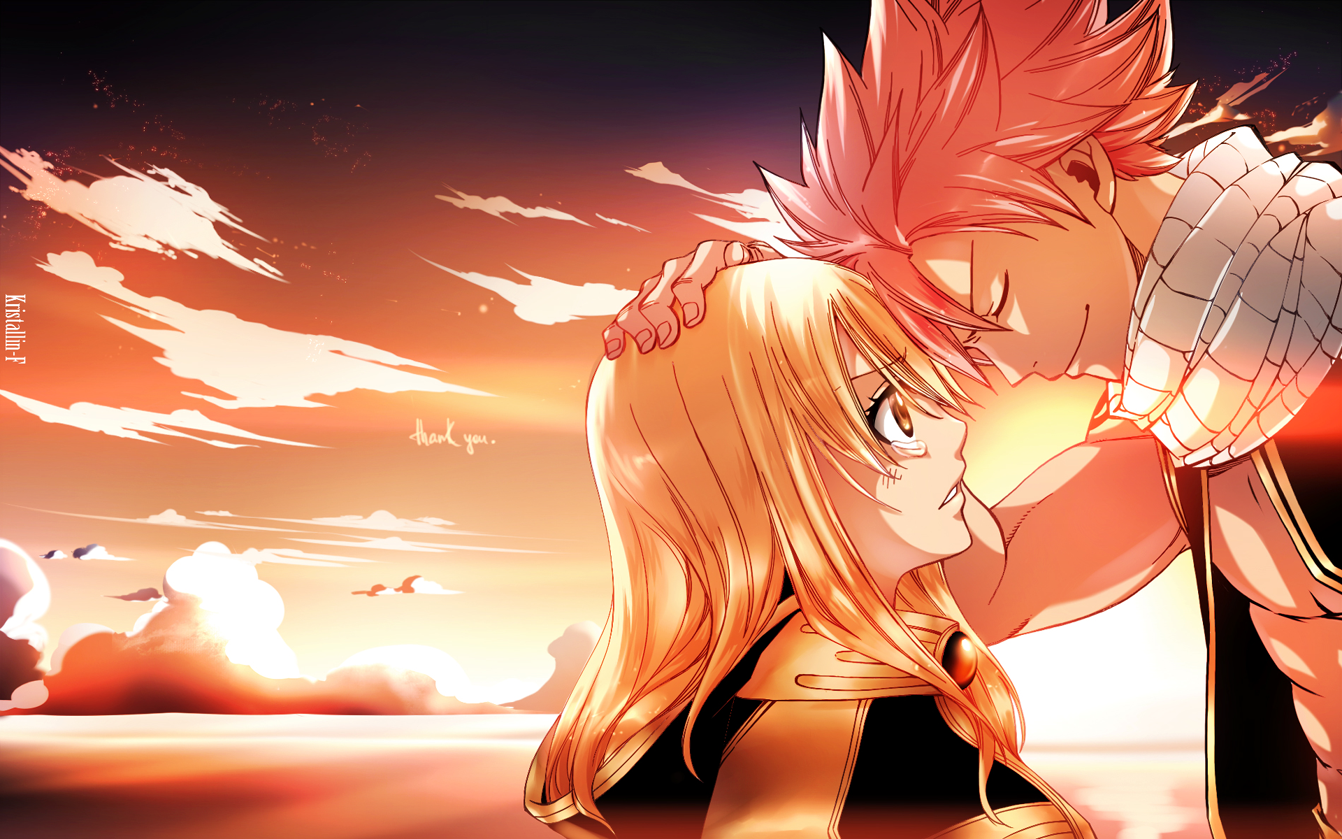 ... Fairy Tail NaLu (Fairy Tail) Lucy Heartfilia Natsu Dragneel Wallpaper