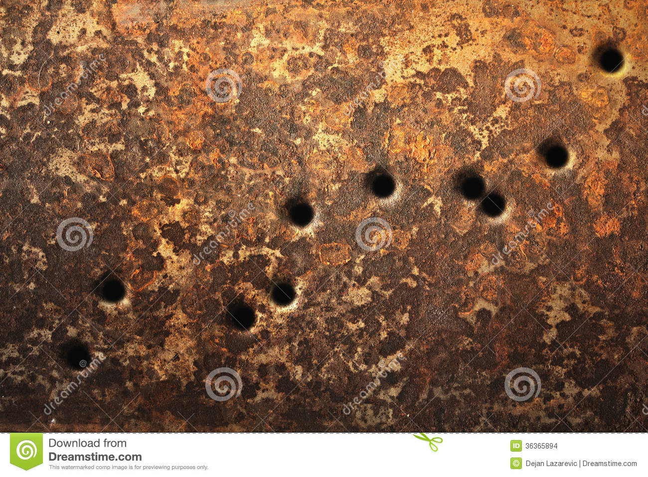 Bullet Holes Background Stock Images - Image: 36365894