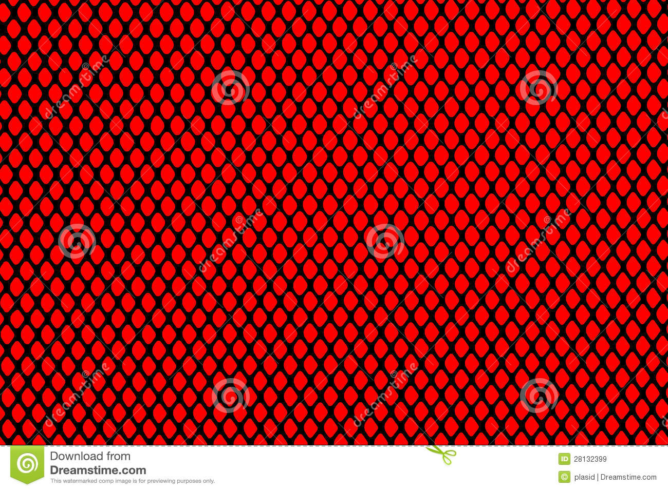 Black Grill On Red Background Royalty Free Stock Images - Image ...