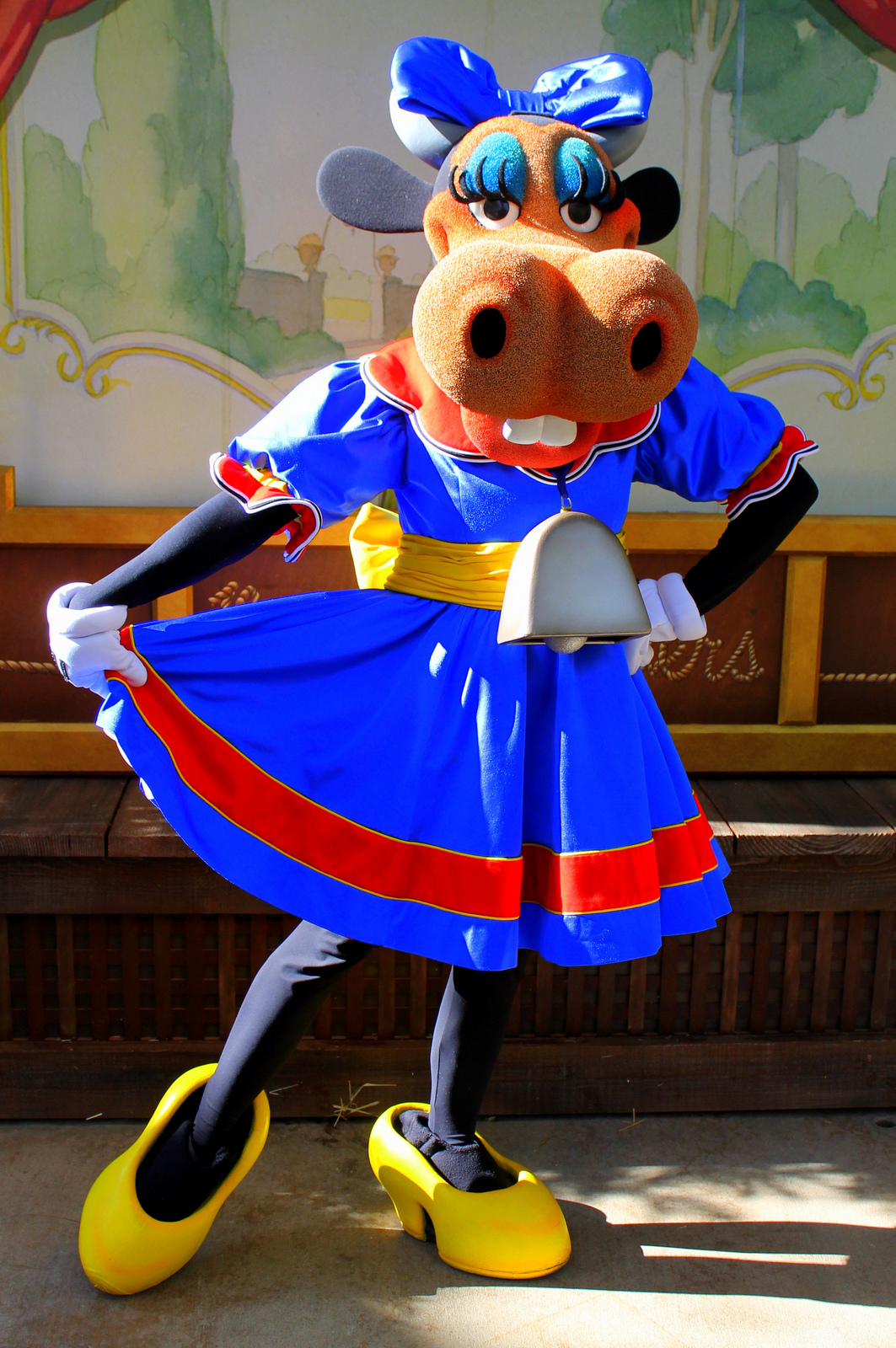 Fastpass To History: Clarabelle Cow - Frontierland Station
