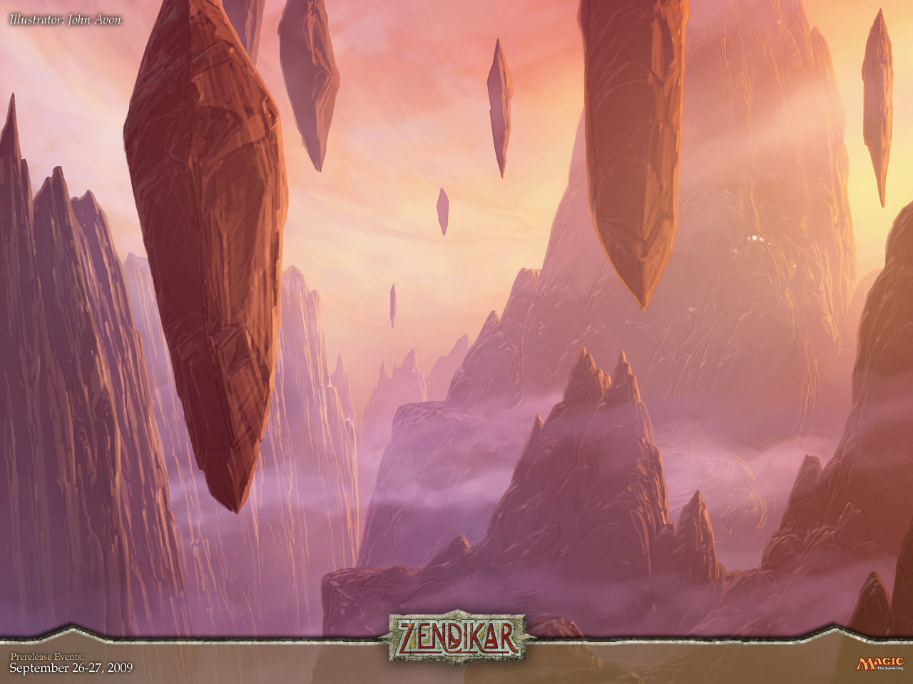 Zendikar Forests (and Wallpaper of the Week!) : Daily MTG : Magic: The ...