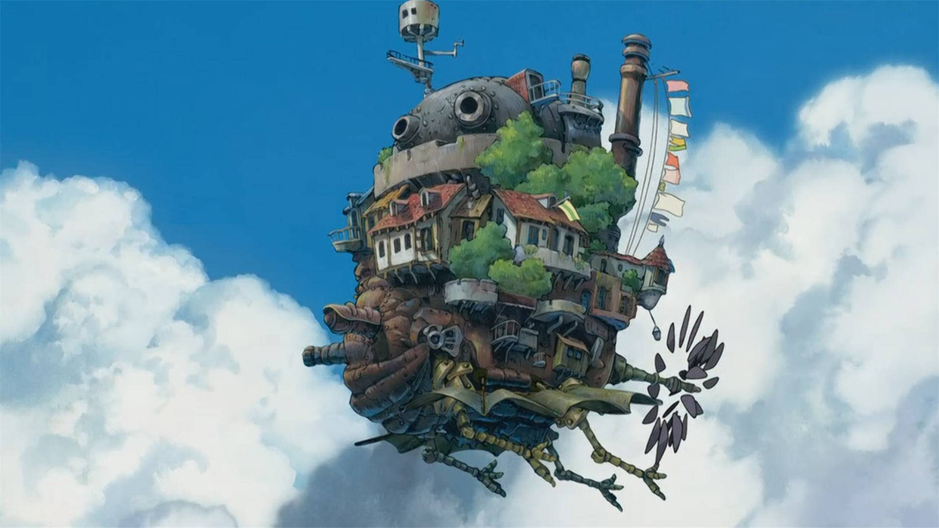Howl's Moving Castle, Howl's Moving Castle.