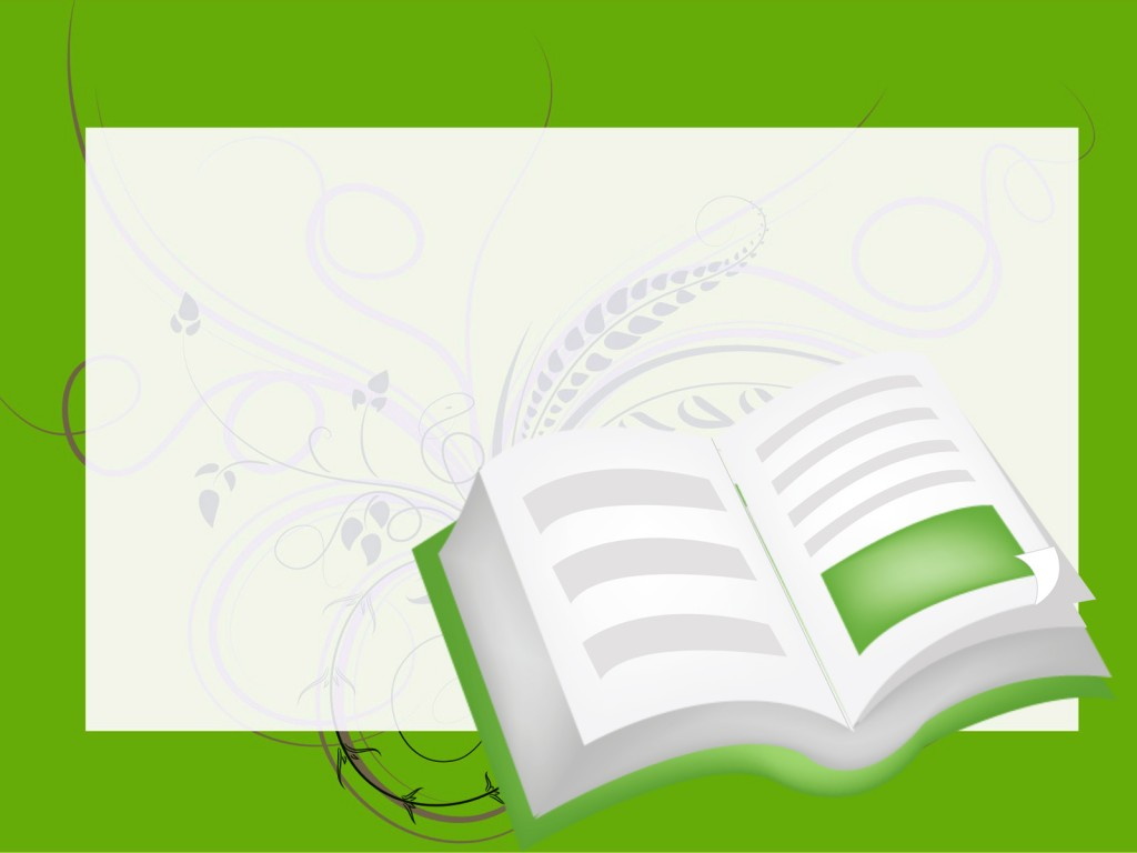 Open Book Backgrounds - Educational - PPT Backgrounds