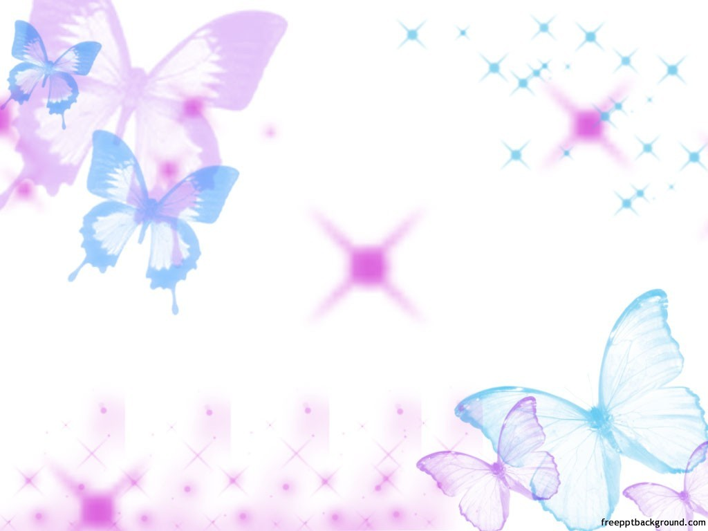 Nice light colored butterfly background for your animated or other ppt ...
