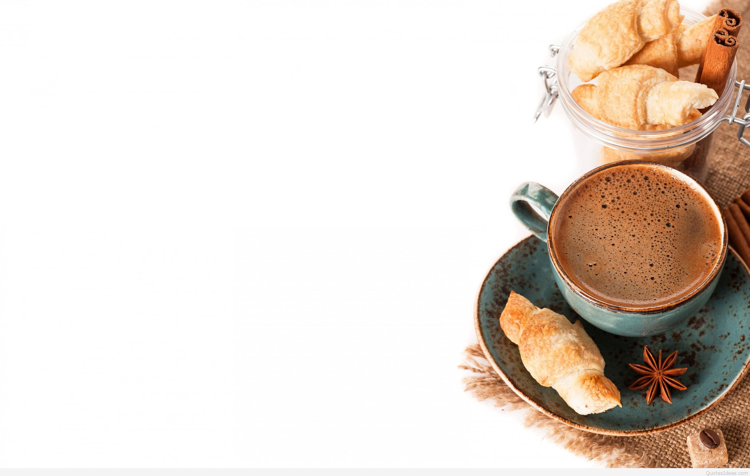 Coffee background good morning wallpaper