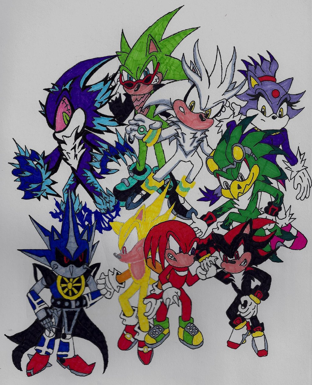 Sonic Rivals by IsparXRVDark on DeviantArt