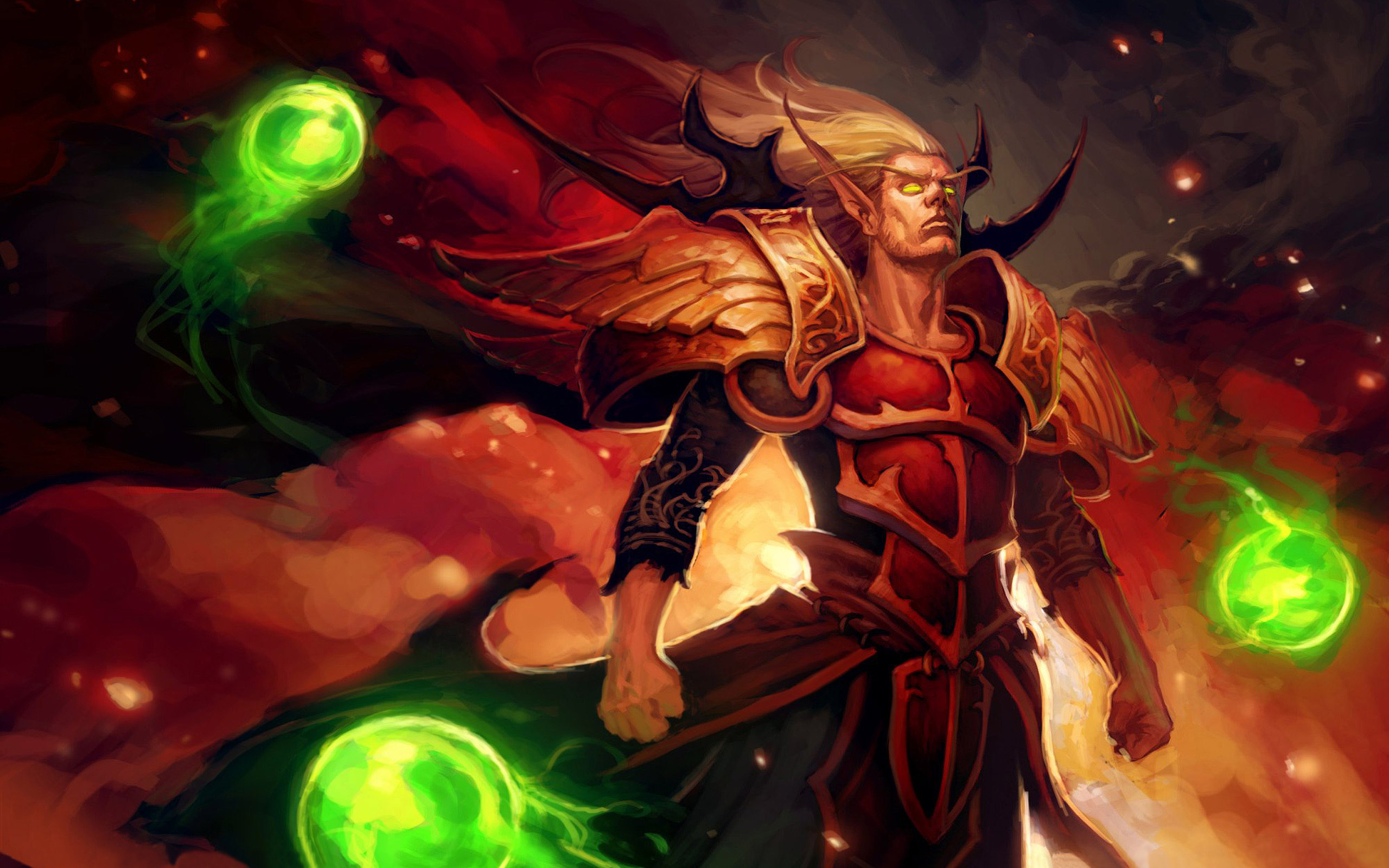 Video Game World Of Warcraft Kael'thas Sunstrider Blood Elf Wallpaper