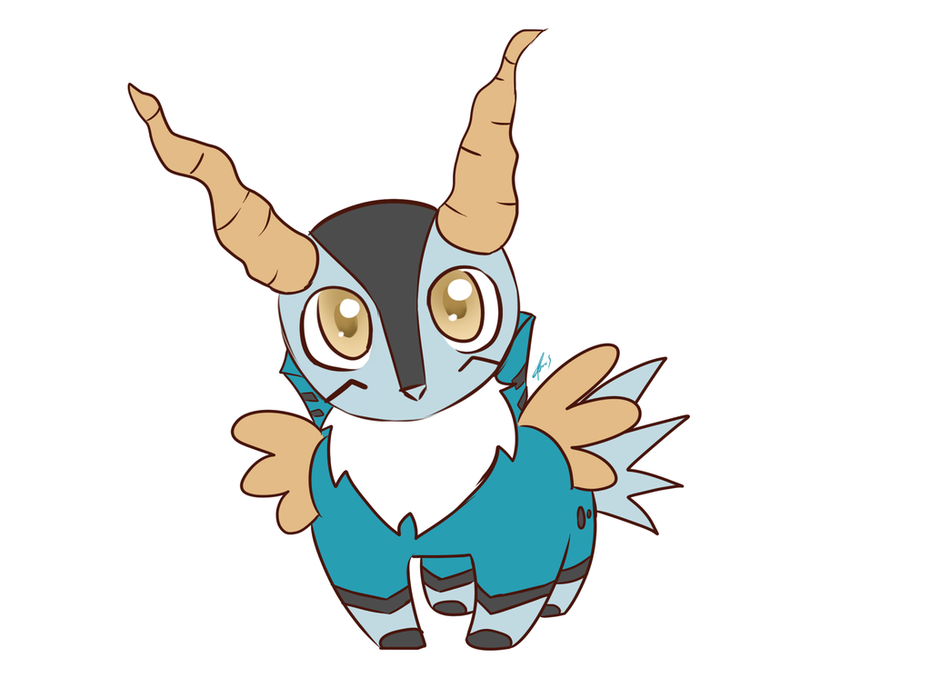 Cobalion Chibi by spoontaneous on DeviantArt