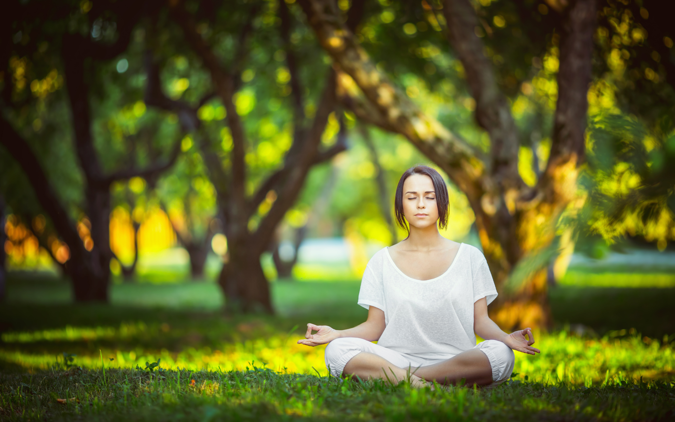 Yoga Posture Of Girl 4K Wallpaper - HD Wallpapers Backgrounds of Your ...