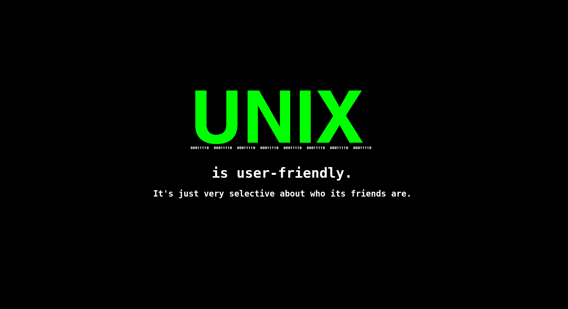 Unix Computer Wallpapers, Desktop Backgrounds | 1980x1080 | ID:428980