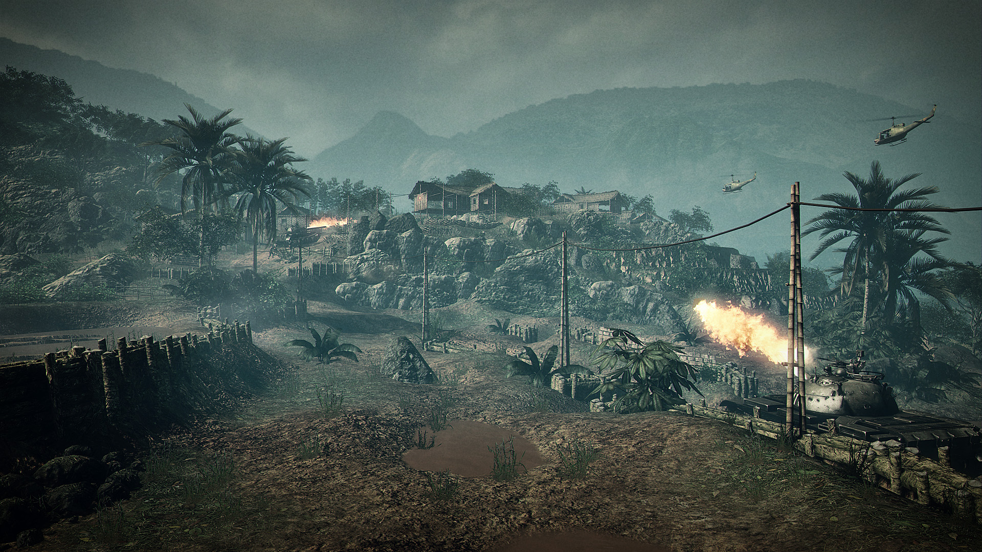 Battlefield: Vietnam - Vantage Point 03 (Wallpaper 1920 x 1080)