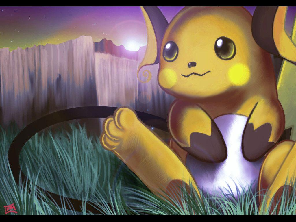 Images For > Raichu Wallpaper