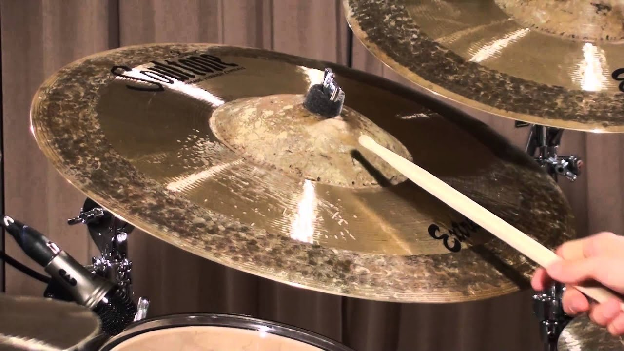 Soultone cymbals Mega Bell Extreme Ride Demo - YouTube