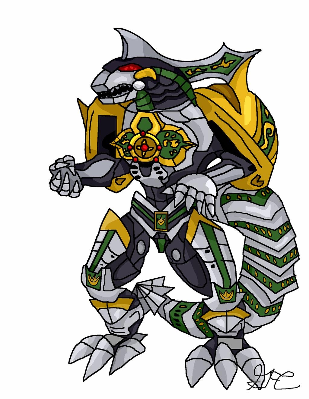 My Movie Concept - Dragonzord by LavenderRanger on DeviantArt