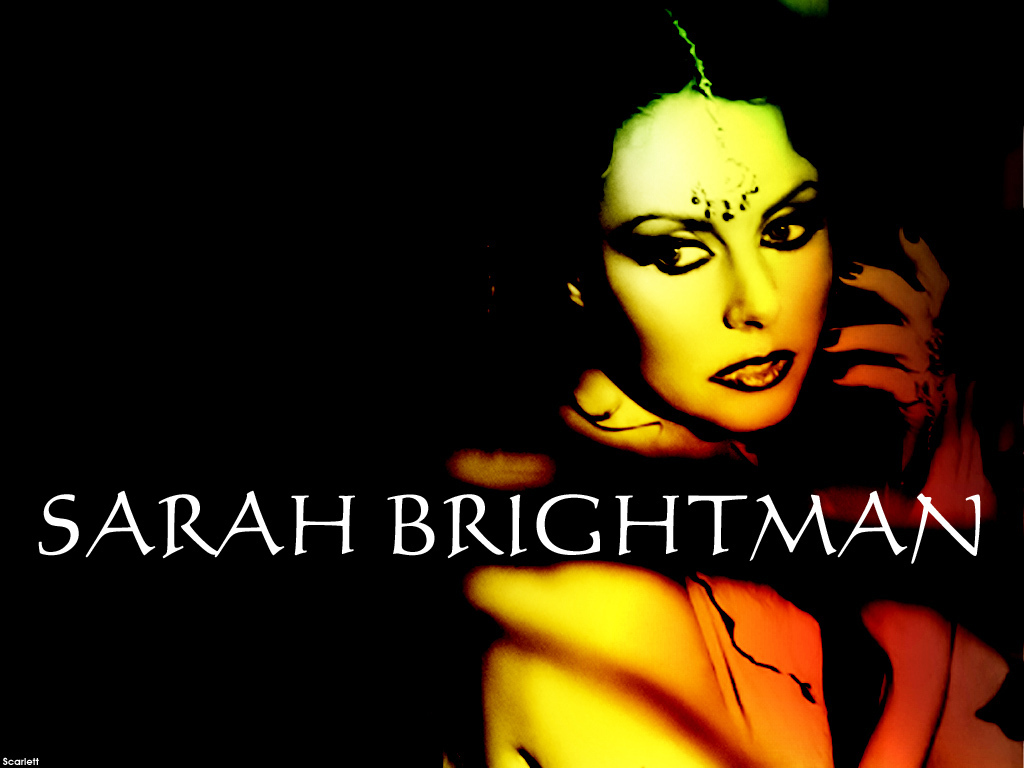 Sarah Wallpaper - Sarah Brightman Wallpaper (6294485) - Fanpop