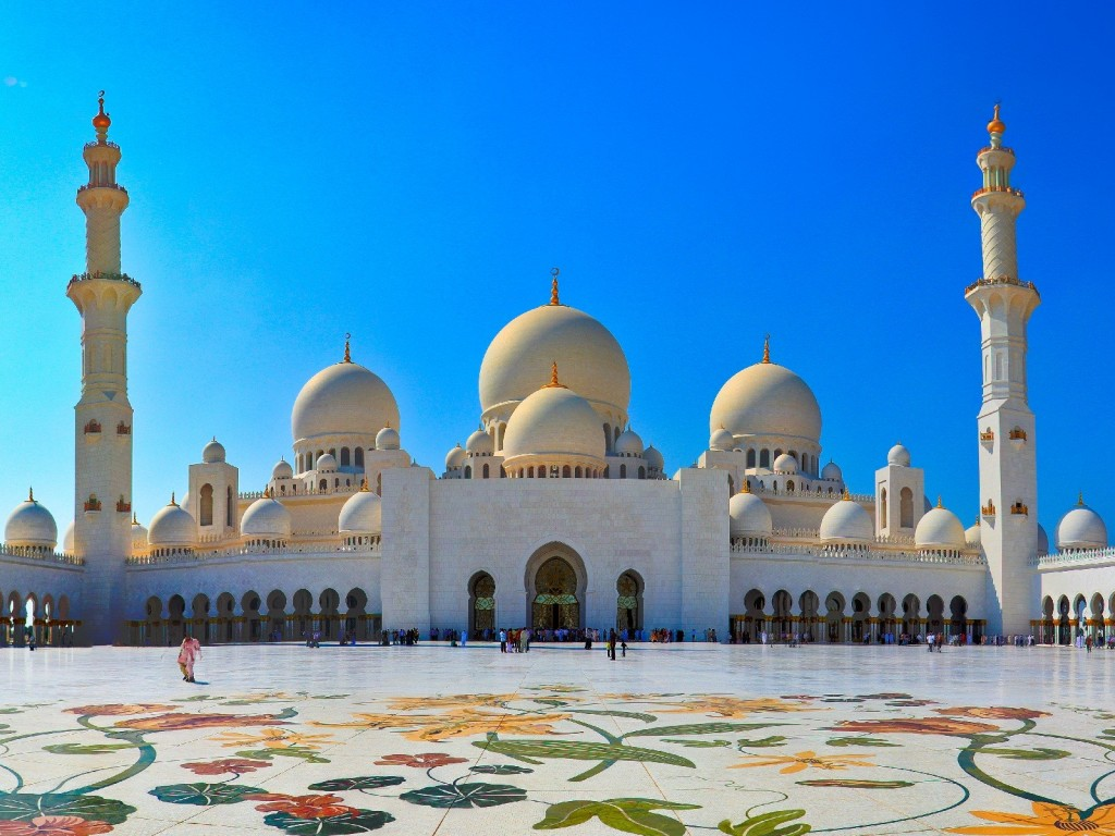 Mosque Abu Dhabi Wallpaper | Full Desktop Backgrounds