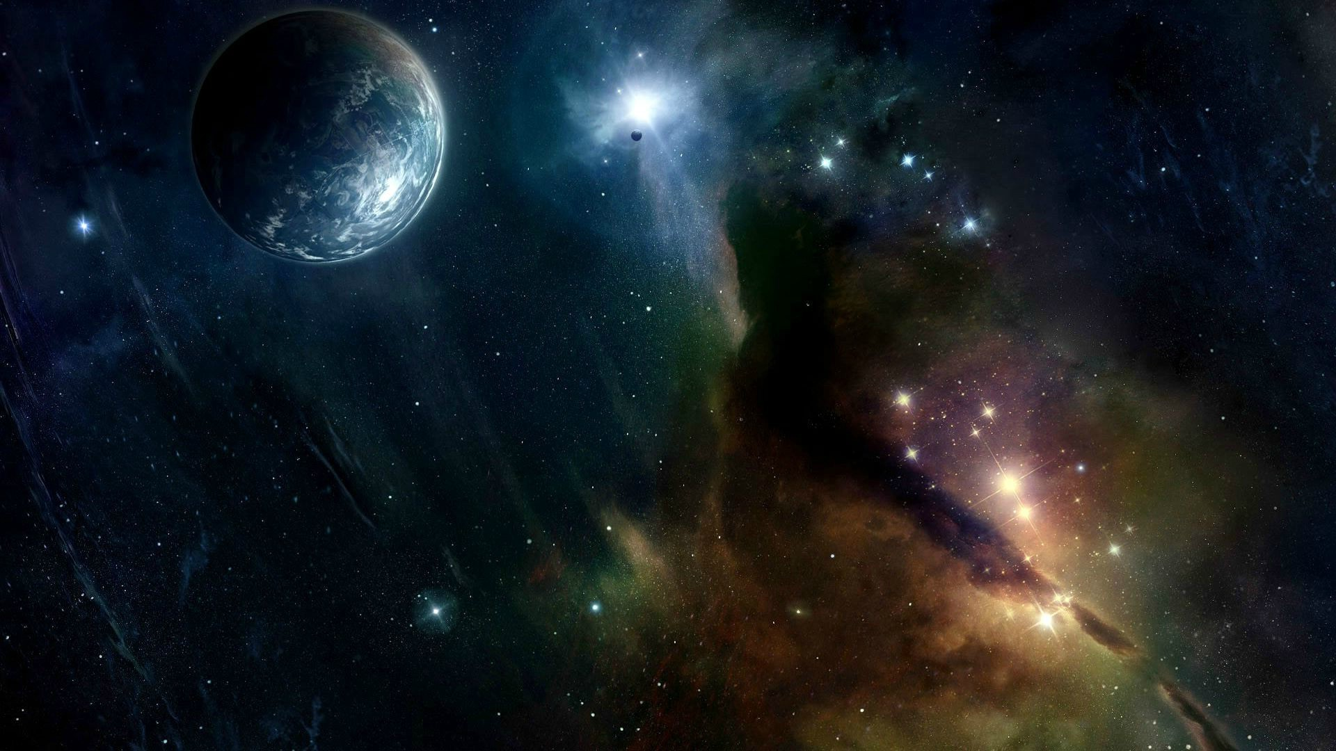 space, Earth, Galaxy Wallpapers HD / Desktop and Mobile Backgrounds