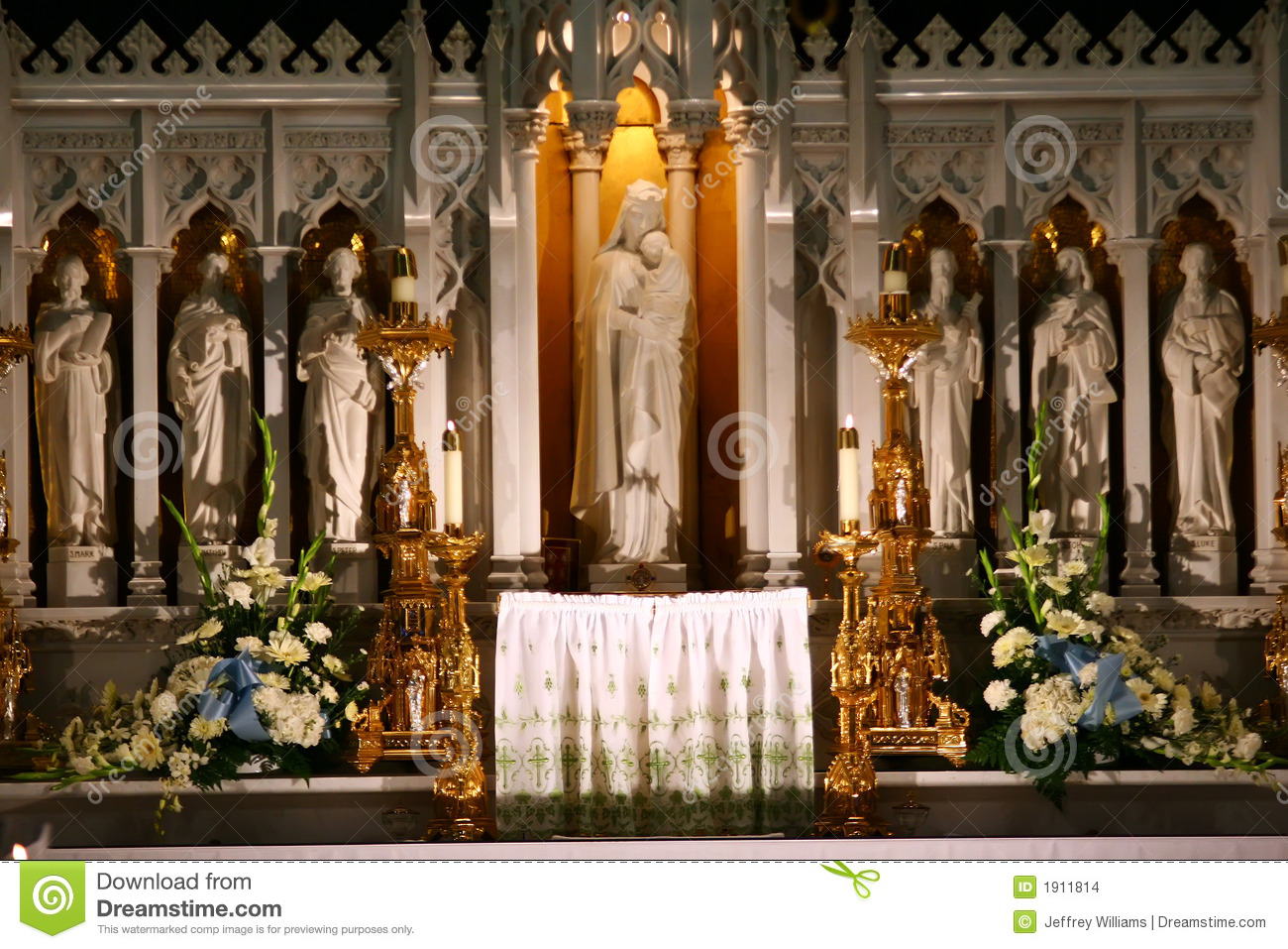 Catholic Church Altar Stock Images - Image: 1911814