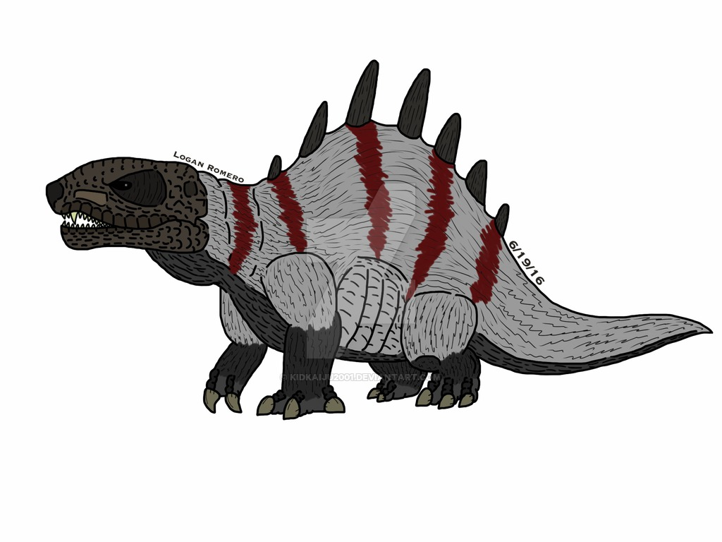Scientifically accurate dimetrodon (color) by Kidkaiju2001 on ...