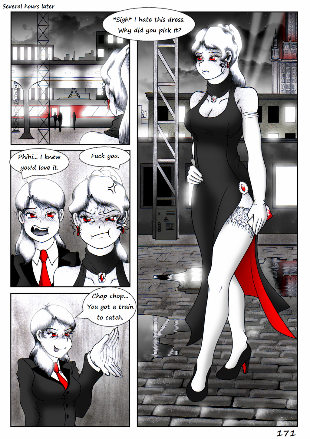 Pg 171 VTM: the Return of Caine by Galejro on DeviantArt